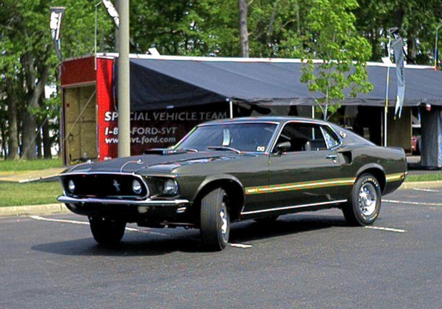 1969 Ford Mustang MCA National Thoroughbred Winner