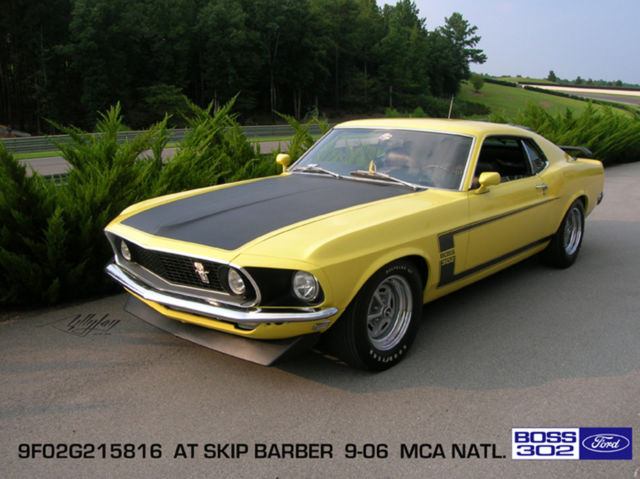 1969 Ford Mustang 302