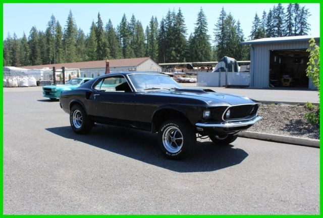 1969 Ford Mustang Mach 1 Trim, Fastback, Sportsroof, Great BOSS 429 or 302 Clone