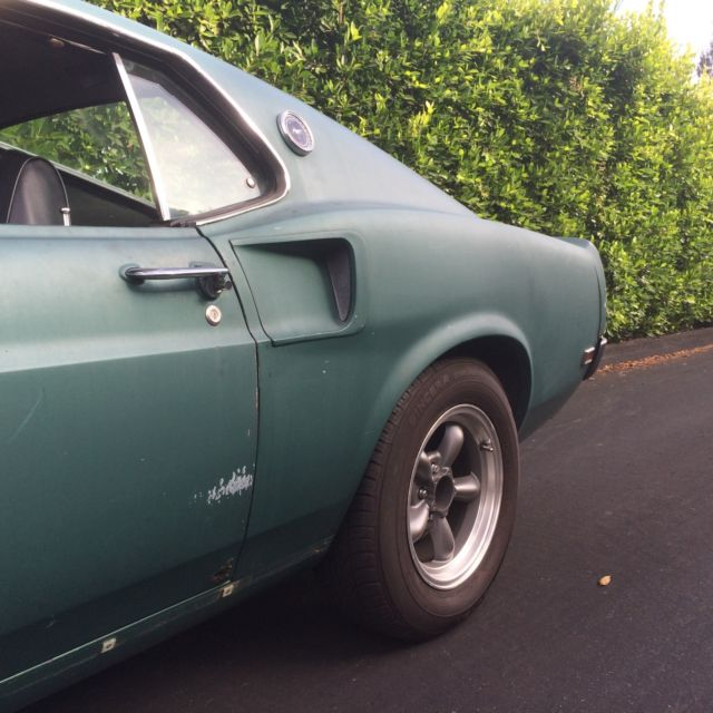 1969 Mustang Mach-1 Fastback CA Blk Plate 90 Code For Sale