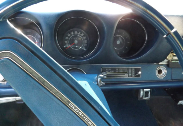 1969 Olds Cutlass S 107K Original Miles AT Console Shift