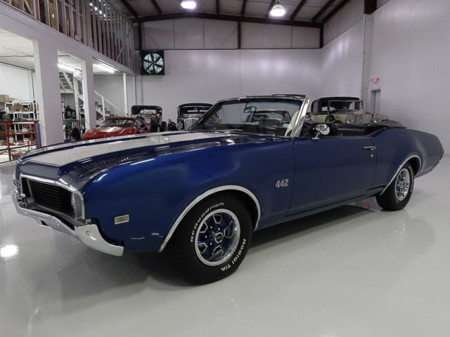 1969 Oldsmobile 442 Convertible, ONLY 50,788 ORIGINAL MILES!