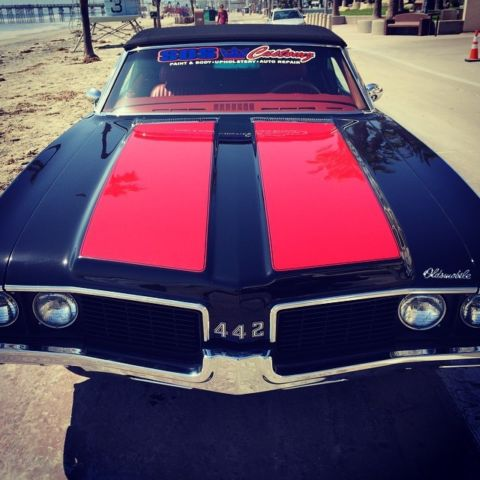 1969 Oldsmobile 442 Convertible W 30 Restoration