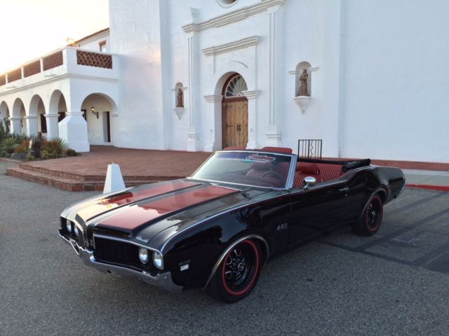 1969 Oldsmobile 442 442 W-32 option