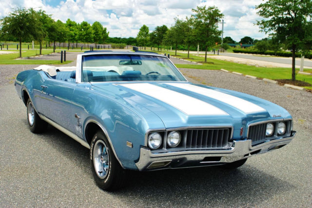 1969 Oldsmobile Cutlass S Convertible W-30 Tribute 455 Big Block V8 Engine