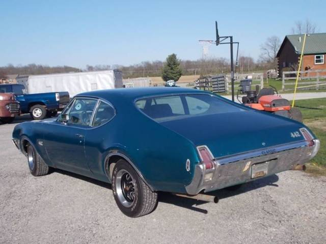 1969 Oldsmobile TRUE 442 Coupe 455 V8, Munci 4-Speed, Came