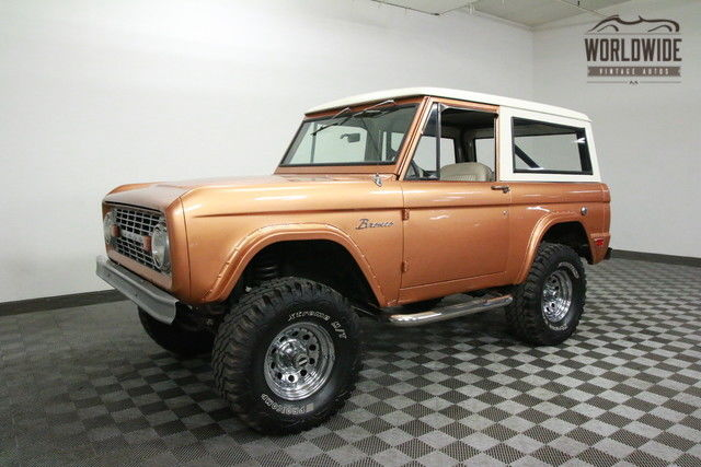 1969 Ford Bronco RESTORED. GORGEOUS. V8! 4X4. PS!