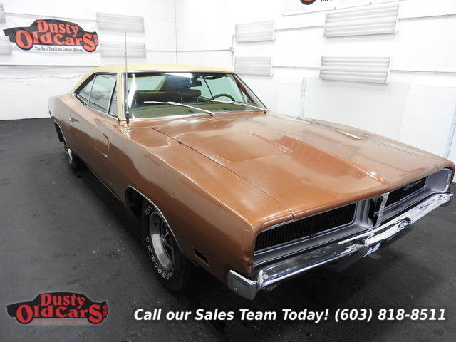 1969 Dodge Charger Runs Drives Body Inter Good 383V8 3 spd auto