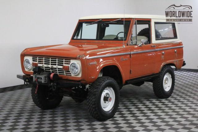 1969 Orange UNCUT ORIGINAL PAINT 302 V8 PS PB