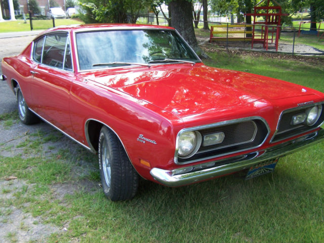 "1969 Plymouth Barracuda 340 ""S"" - 4SPD- ALL NUMBERS MATCHING"