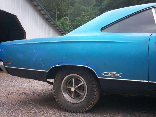 Chryslers At Carlisle >> 1969 Plymouth GTX 440 Automatic B5 Blue Rare Barn Find 69 ...