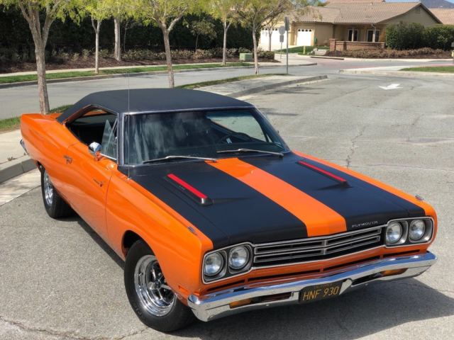 1969 Plymouth Road Runner Hardtop 440, Mopar, B-Body with
