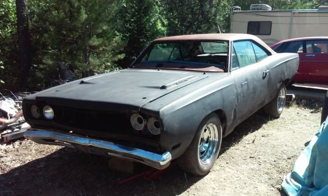 1969 plymouth roadrunner 383 4 speed hardtop mopar project car muscle classic for sale. Black Bedroom Furniture Sets. Home Design Ideas