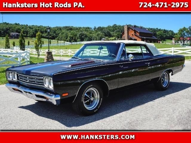 1969 Plymouth Road Runner Convertible