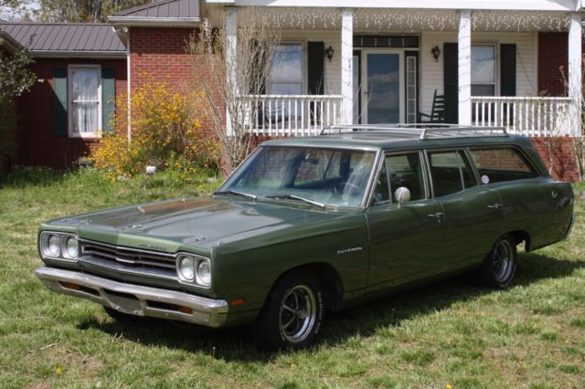 1969 Plymouth Satellite Sport Wagon