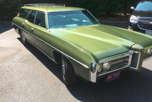 1969 Pontiac Bonneville Station Wagon For Sale Photos