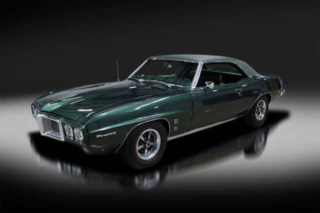 1969 Pontiac Firebird Rare. Documented. Matching Numbers. Must See!