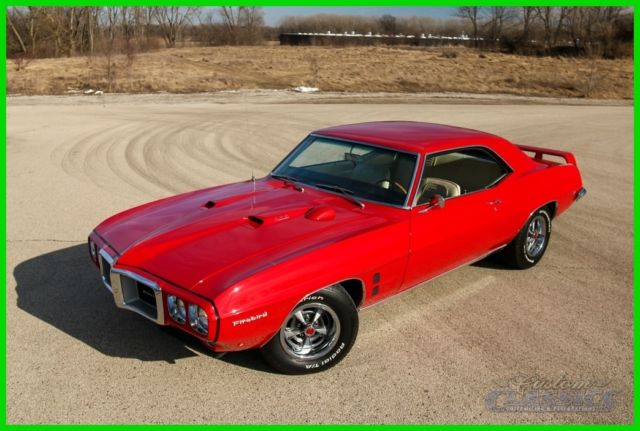 1969 Pontiac Firebird Phs Documented Ys Code 400ci Ram
