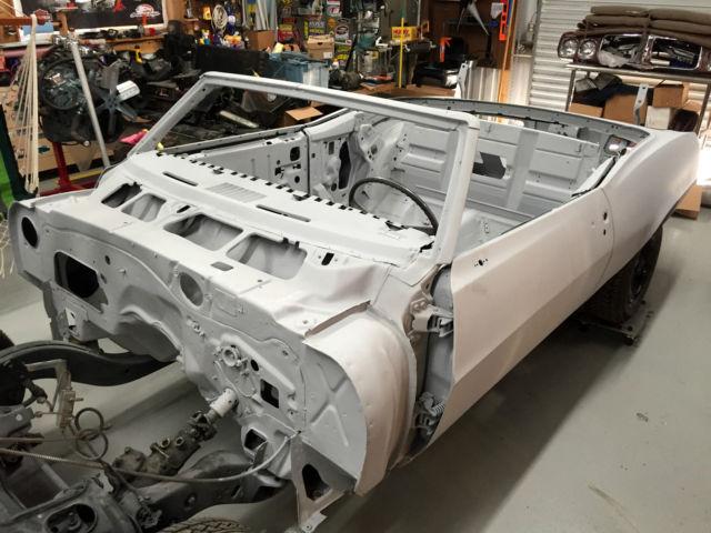 1969 Pontiac Firebird Project Car For Sale Photos Technical