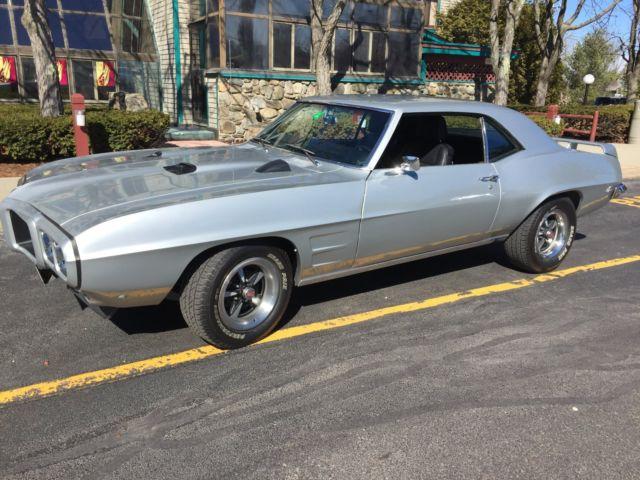 1969 Pontiac Firebird supercharged supercharger 4 speed