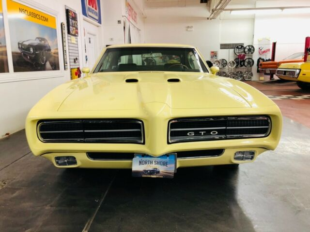 1969 Mayfair Maize Pontiac GTO -LOTS OF POWER OPTIONS-PHS DOCUMENTED- SEE VIDEO Coupe with Black interior