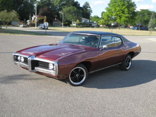 1969 pontiac lemans, red, vinyl top, v8 engine, th350 automatic1969 pontiac lemans, red, vinyl top, v8 engine, th350 automatic trans
