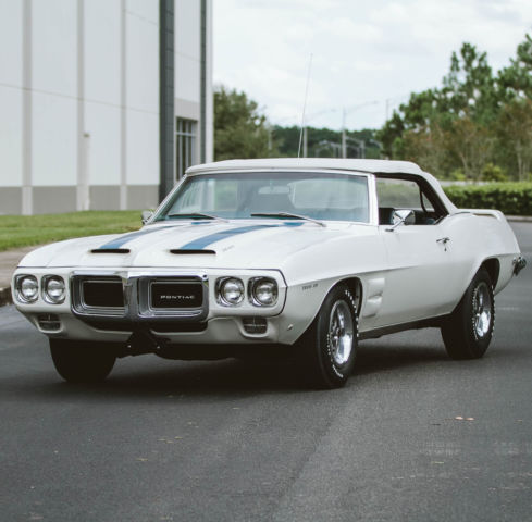 1969 Pontiac Trans Am 1969 CONVERTIBLE 4 SPEED RAM IV