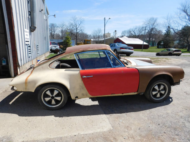 1969 Porsche 911 Barn Find Restoration Project For Sale Photos