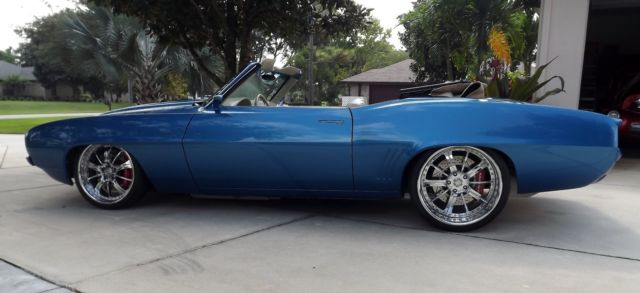 1969 pro touring chevrolet camaro convertible for sale photos technical specifications. Black Bedroom Furniture Sets. Home Design Ideas