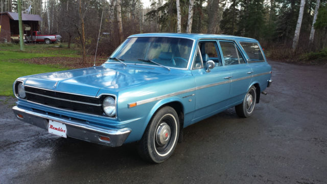 1969 rambler american station wagon for sale photos. Black Bedroom Furniture Sets. Home Design Ideas