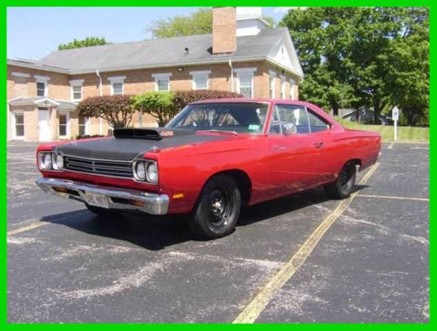 1969 Plymouth Road Runner REAL RM CODE BIG BLOCK 440-WITH 4 SPEED-