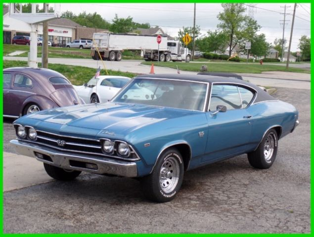 1969 Chevrolet Chevelle REAL SS- L CODE BIG BLOCK CAR-NICE CONDITION-SEE V