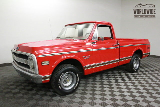 1969 Chevrolet C10 CST SHORT BED. RESTORED AND RARE!