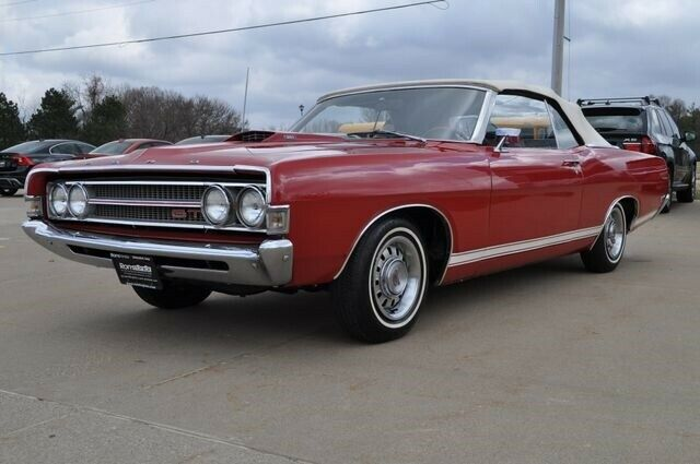 1969 Red FORD Torino GT Convertible with 60,710 Miles Runs great! Must SEE!