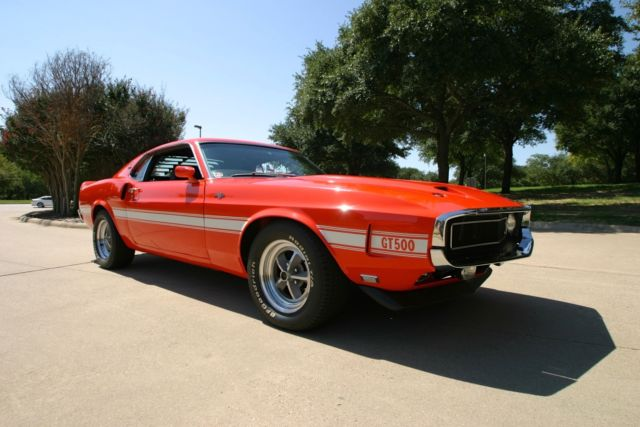 1969 SHELBY COBRA GT500 FASTBACK COMPETITION RED/BLACK