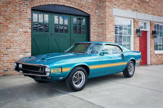 1969 Ford Shelby GT500 - Rare and Gorgeous