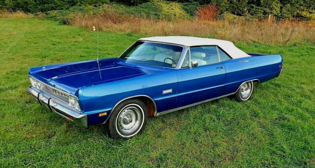 1969 Plymouth Fury Sport Fury Convertible