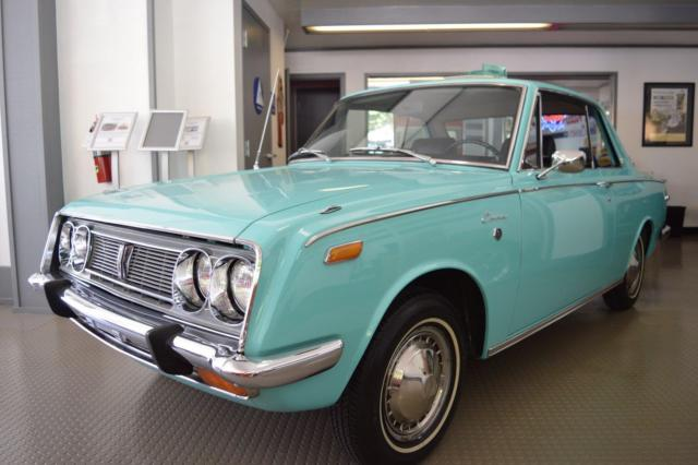 1969 Toyota Corona Coupe Rare Collector Car Fully Documented Amazing
