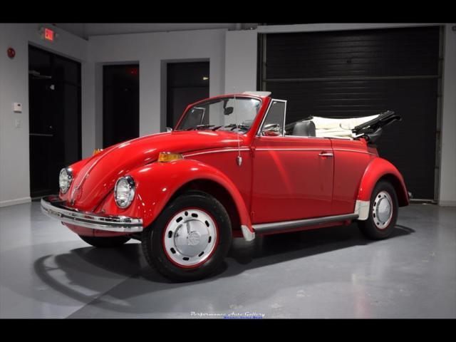 1969 Volkswagen Beetle Classic Convertible 4 Speed Manual 2 Door