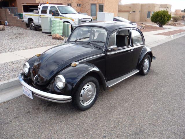 1969 Volkswagen Beetle VW Bug Salvage Title - Read Below for
