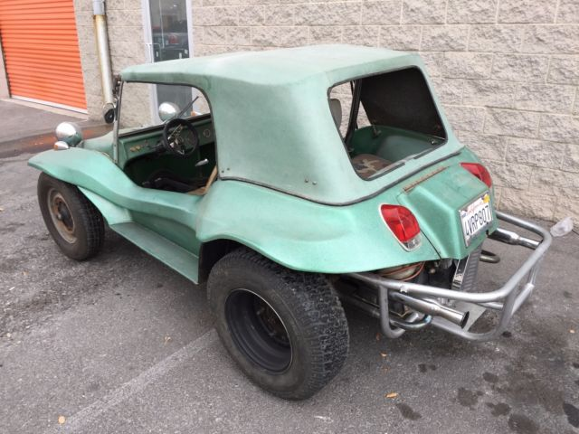 1969 Green Volkswagen Welch Fun Car Dune Buggy Convertible with White interior