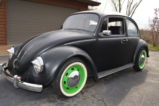 Vw beetle flat black