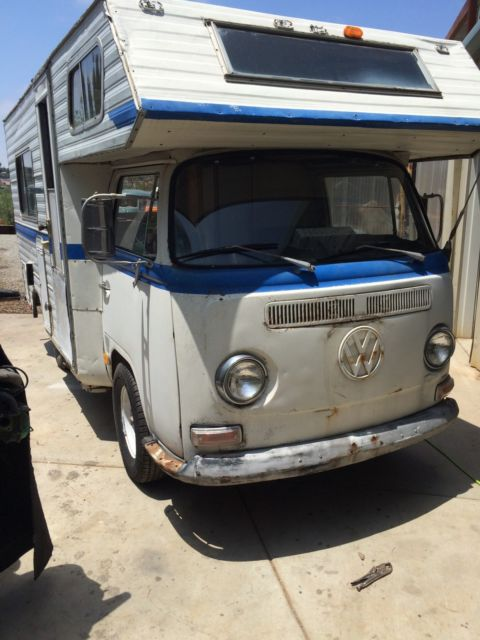 1969 vw bus custom camper motorhome ex westfalia for sale