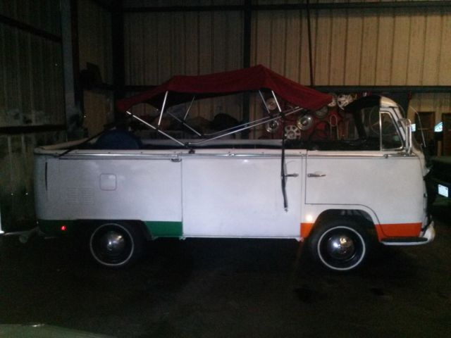 1969 Vw Bus Unique Custom Convertible One Of A Kind For