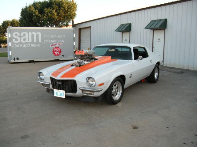 1970 1 2 Chevrolet Camaro Blown Big Block Street Beast For