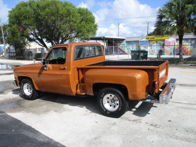 1987 Tan Chevrolet C-10 C10 PICK UP with Gold interior