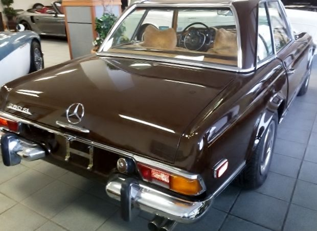 1970 280sl mercedes pagoda convertible rare 4 speed manual trans drives great for sale photos. Black Bedroom Furniture Sets. Home Design Ideas