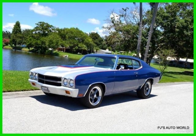 1970 Chevrolet Chevelle 350 V8 Automatic Classic Auto Air Condition Nice!