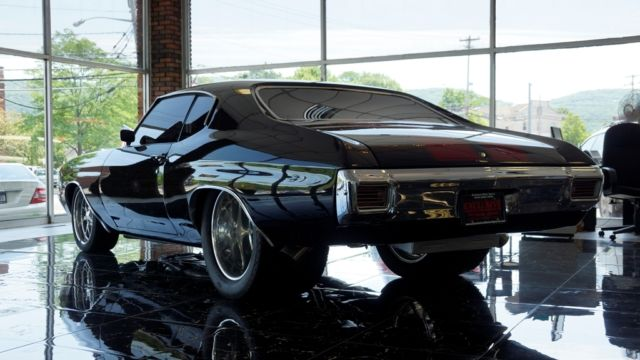1970 70 Chevy Chevrolet Chevelle Ss 468 Hardtop Hardtop