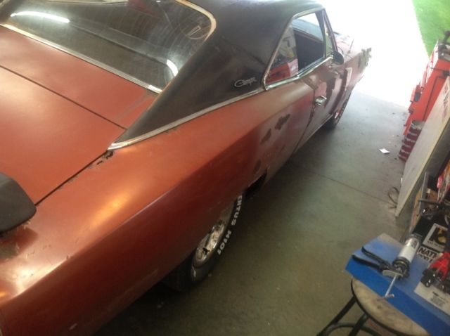 1970 Dodge Charger Rt Project Car Overall Solid Car For Sale: 1970 70 Dodge Charger R/T 4 Speed Dana 60 Great Running